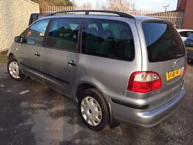 2006 Ford Galaxy 1.9 TDi LX 5dr 7 Seater MPV Silver 1 owner from new.