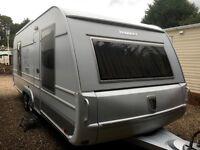 tabbert caravan Puccini (2010) Rare Model Caravan. Like Hobby And Fendt