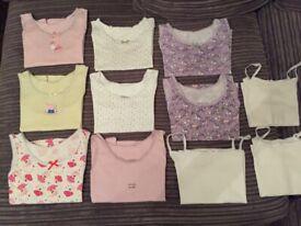 Bundle of pretty Vests Age 2-3yrs.