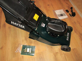 Hayter Harrier 41 Electric Battery Mower. Powerful. Quiet. Immaculate. Like new. RRP £349