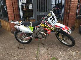 2008 Honda crf 450 excellent condition for year ready to ride