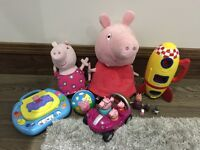 Peppa Pig &George Toy Collection