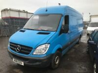 Mercedes Benz sprinter 2011 year breaking spare parts available euro 5 parts