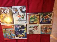 Ds 3ds and wii games