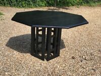 Italian solid wood table. Japanese style