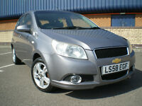 ***Chevrolet Aveo 1.4 LT 5dr*** LOW MILEAGE ***ONLY COVERED 51K*** BARGAIN ***