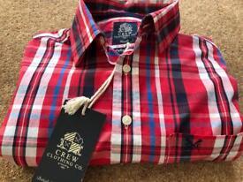 Fabulous Crew Clothing Co men's shirt. BNWT. RRP £55