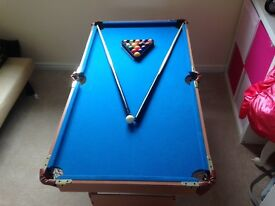 Pool Table & accesories