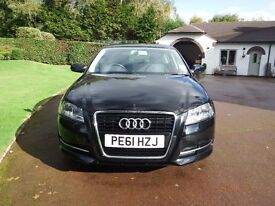 AUDI A3, 2011 LOW MILES IN BLACK