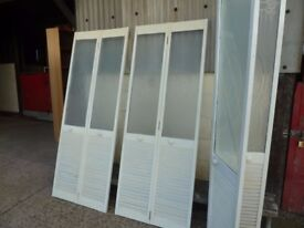 3 x Bi-fold Doors with Glass section Delivery Available