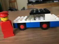 LEGO VINTAGE RALLYE CAR