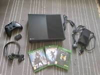 XBOX ONE & 3 GAMES