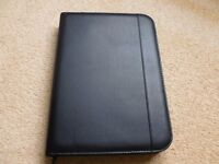 Brand New - Genuine Collins A4 Conference Zip folder