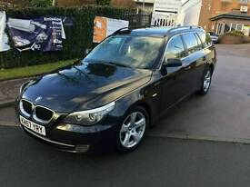 BMW 520d lci facelift manual touring diesel 6 speed 5 series 57 plate