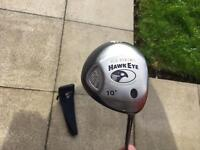 Callaway Hawkeye Driver 10 Degree Excellent Condition. Titleist Ping Taylormade