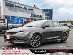 2015 Chrysler 200 ***S***PANO ROOF***3.6L ENGINE***