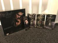TWILIGHT board game , 3 metal key rings and a book mark NEW