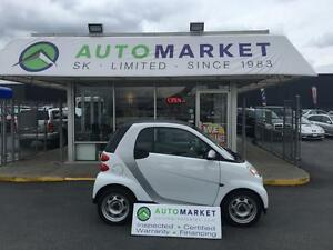 2012 Smart fortwo PURE/BLUETOOTH/AUX. WARRANTY