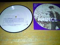 PRINCE. 45 RPM VINYL. COLLECTORS EDITION PICTURE DISC.