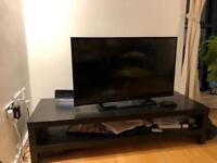 Black IKEA TV STAND - next to overground station!