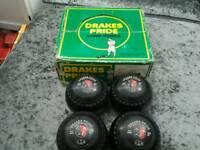 Vintage drakes pride size 5 bowls rare