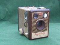 Kodak Brownie Flash B Box Camera with Flash.
