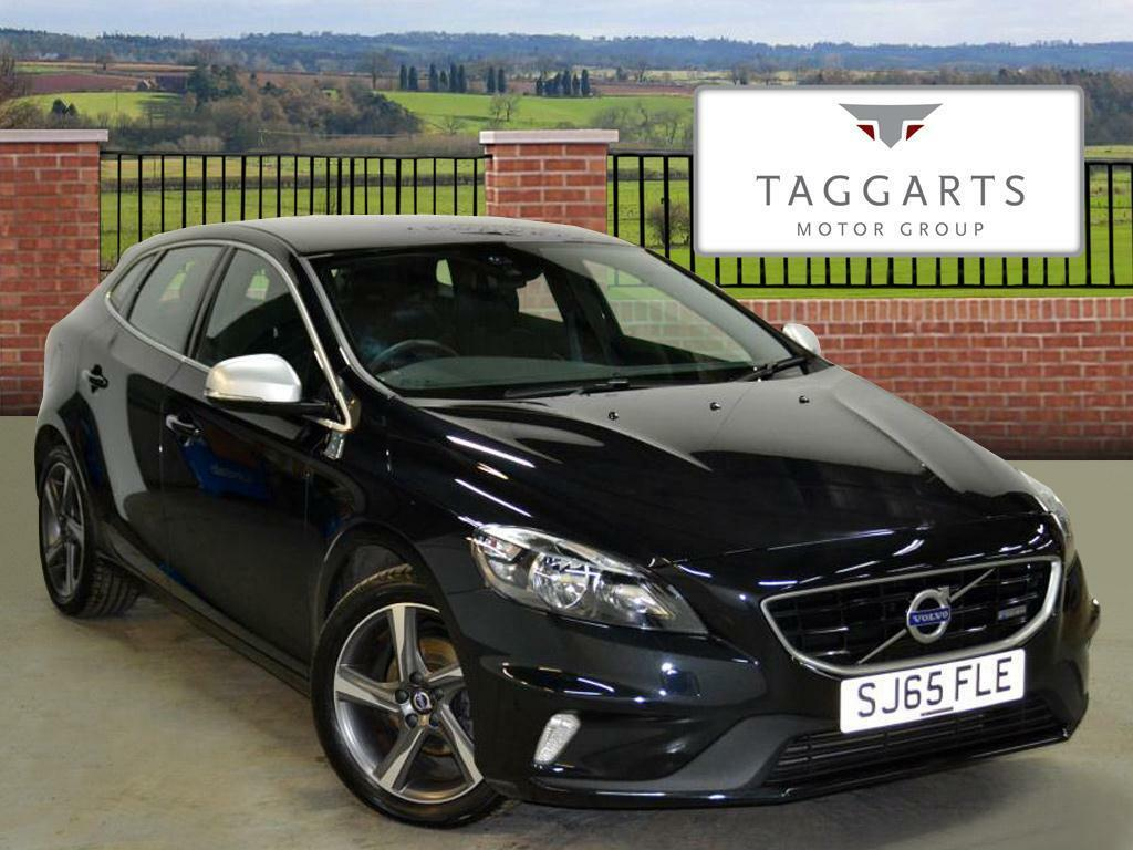 volvo v40 d2 r design black 2015 09 01 in motherwell north lanarkshire gumtree. Black Bedroom Furniture Sets. Home Design Ideas