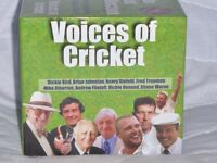 Cricket 10 CD 'Voices of Cricket' Presentation Pack