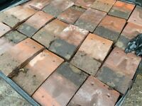 Reclaimed concrete rosemary roofing tile