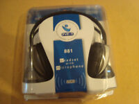 Headset with Microphone 881 - Collection Only