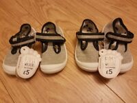2x First Walkers Shoes Brand New