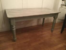 Dining Table - H 75 x W 74 x L 152 cm - Farm / Country House Style