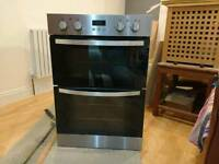 Zanussi double wall oven
