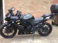 Kawasaki Ninja 250 R Dark Knight, Black Edition In Superb Condition.