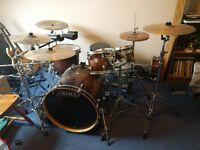 Mapex Meridian Maple Kit, Cymbals & Hardware