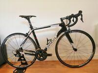 Wilier cento 1 sr carbon road bike - 54cm - ultegra r8000 + mavic