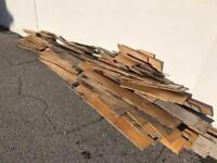 Free Wood Firewood Old Oak Flooring Log Burner