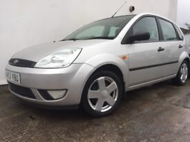 Ford Fiesta Silver 5-dr 1.4 Manual 12 month Mot, Alloy wheels £895