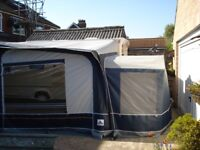 Dorema full awning Daytona size 13 in as new condition with annex