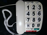 Opticom B300 Big Button Home Phone