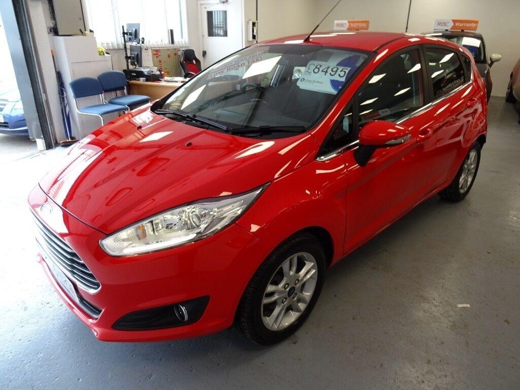 2015-65 Ford Fiesta 1.0 T EcoBoost Zetec Stop-Start 5dr Magenta Manual