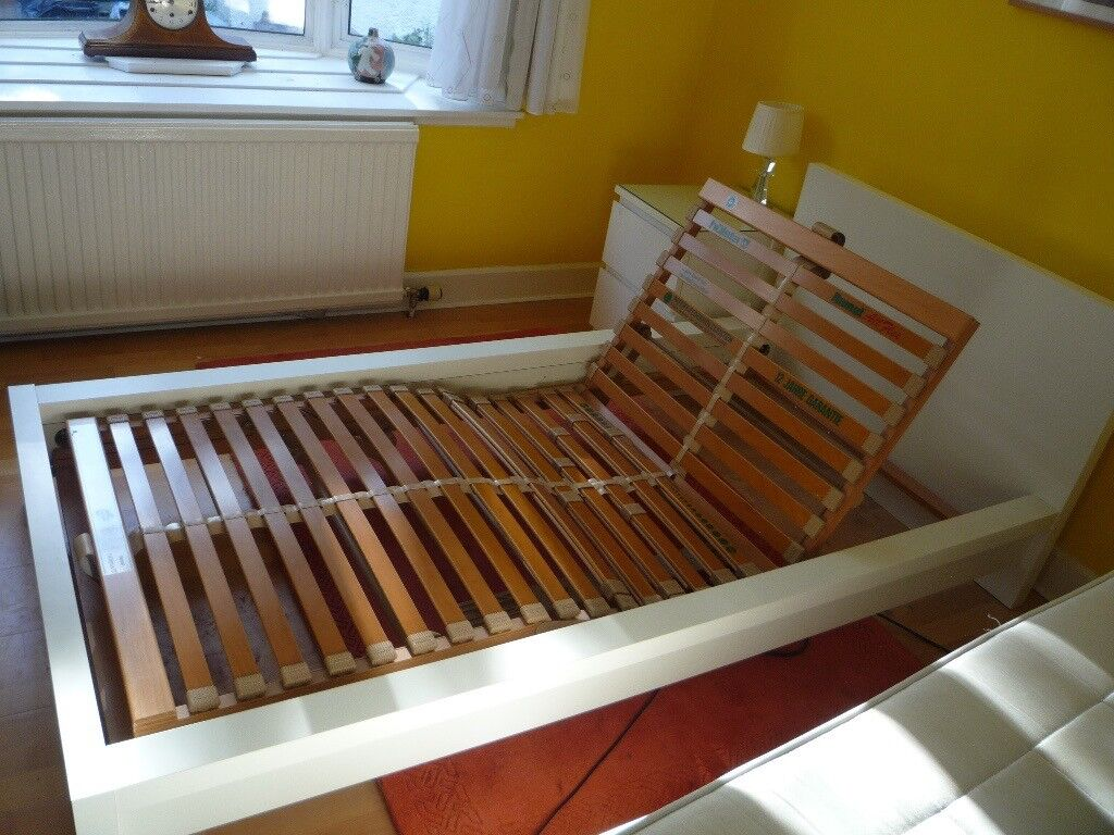 Hulsta Adjustable Bed Base In New Ikea Malm Bedframe And