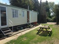 caravan to rent at Steeple Bay