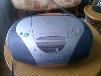 SONY CD RADIO CASSETTE - IN EXCELLENT FULL WORKING ORDER