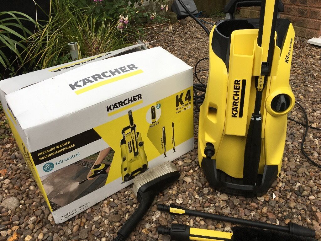 karcher k4 full control pressure washer plus extras in sandwell west midlands gumtree. Black Bedroom Furniture Sets. Home Design Ideas
