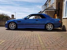 98 S BMW M3 EVO CONVERTIBLE E36 Estorial Blue Vader's Hardtop
