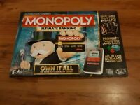 MONOPOLY Ultimate Banking Board Game. Good Condition.