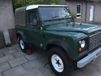 Land Rover defender pick up 300tdi