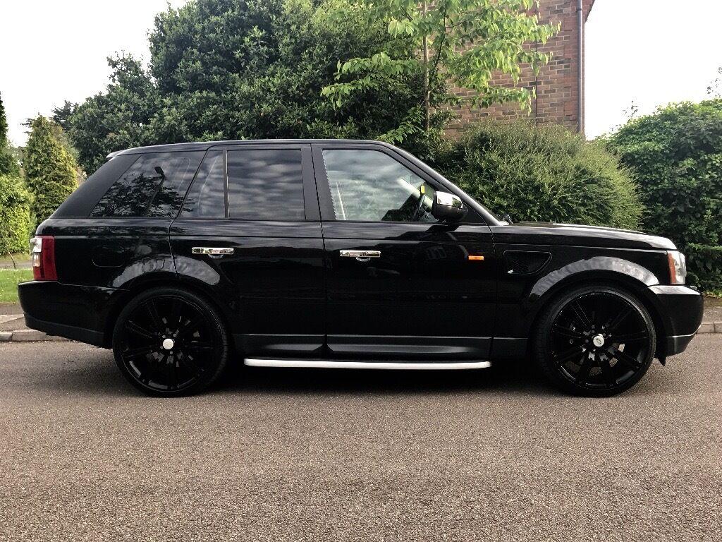 range rover sport 2 7 diesel full history 22 black stormer alloy wheels in watford. Black Bedroom Furniture Sets. Home Design Ideas