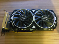 MSI armor RX 470 8GB Graphics Card working perfect